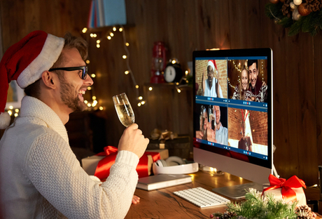 The dangers of letting your hair down at your virtual online Christmas party