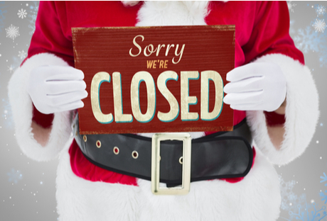 Christmas shut-down: how to get it right