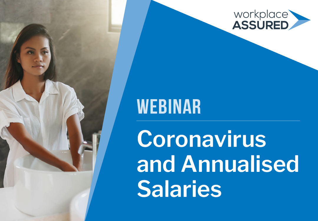 Webinar: Coronavirus and Annualised Salaries webcast