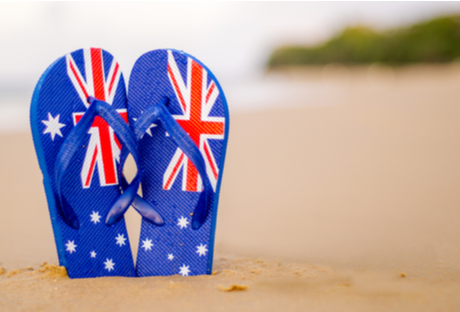 How is regular overtime paid if it occurs on Australia Day?