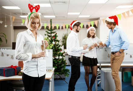Does Christmas party small talk make you cringe?